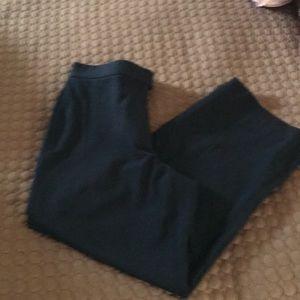 Size P8 DKNY Black Wide Leg Trouser